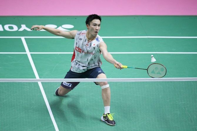Kento Momota, 26, was looking to make his international comeback in Bangkok after almost a year out following a car crash that left him with serious injuries.