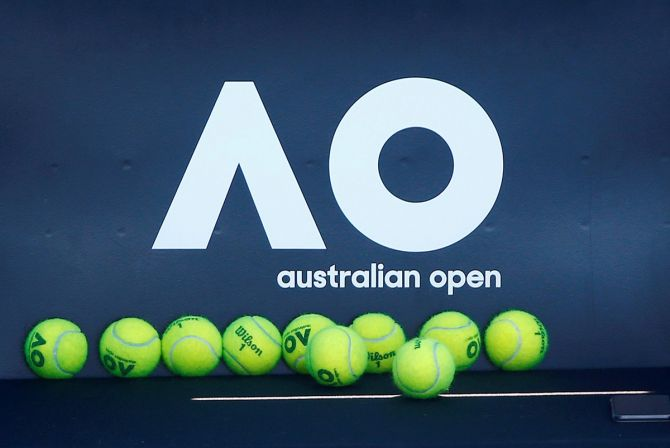 The Victoria quarantine agency said there were 10 active positive cases linked to the tennis in quarantine.