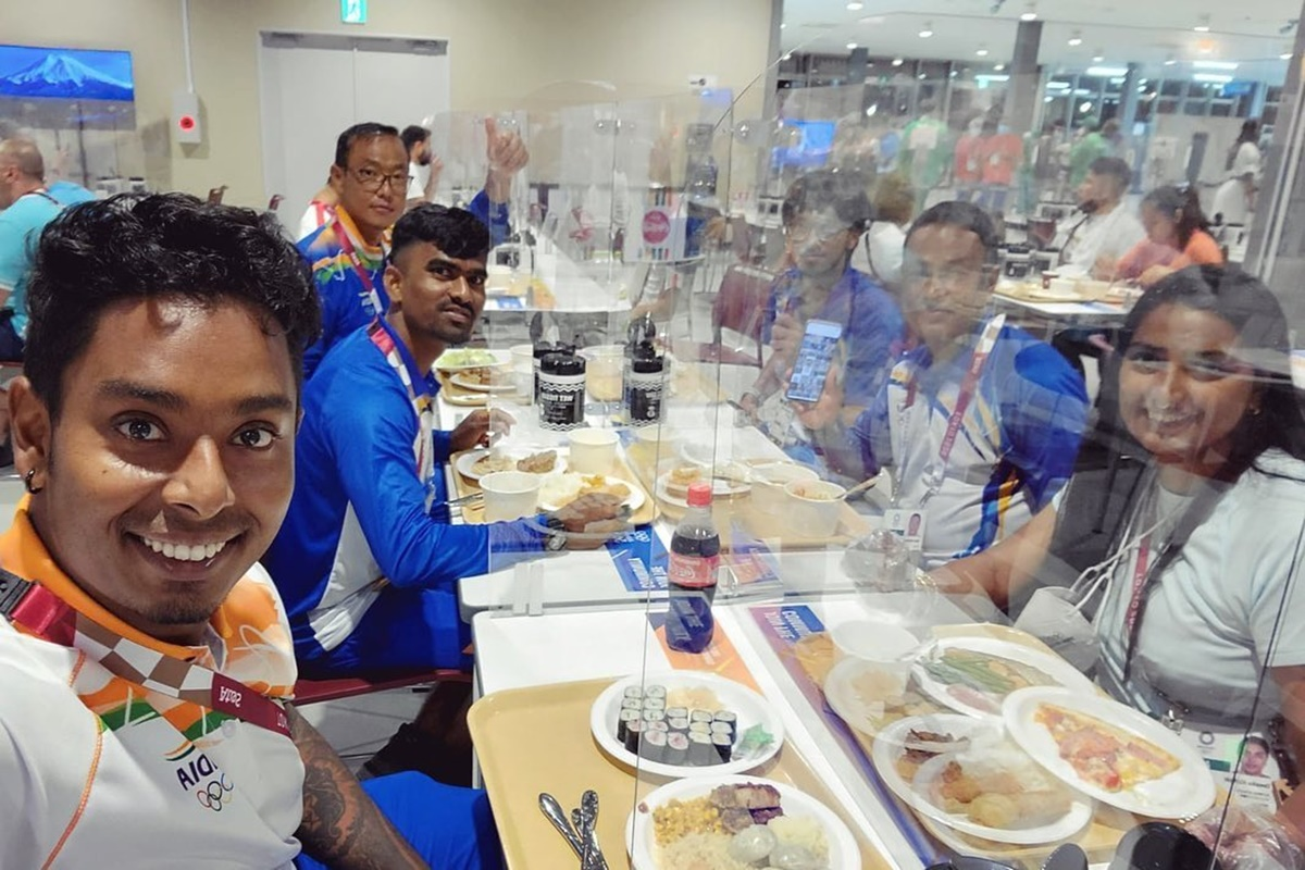Tokyo Olympic Village: Mixed reviews for Indian food