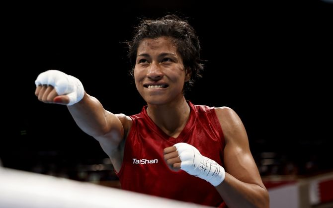 Lovlina Borgohain will be in pursuit of history when she bouts in the semi-final on Wednesday