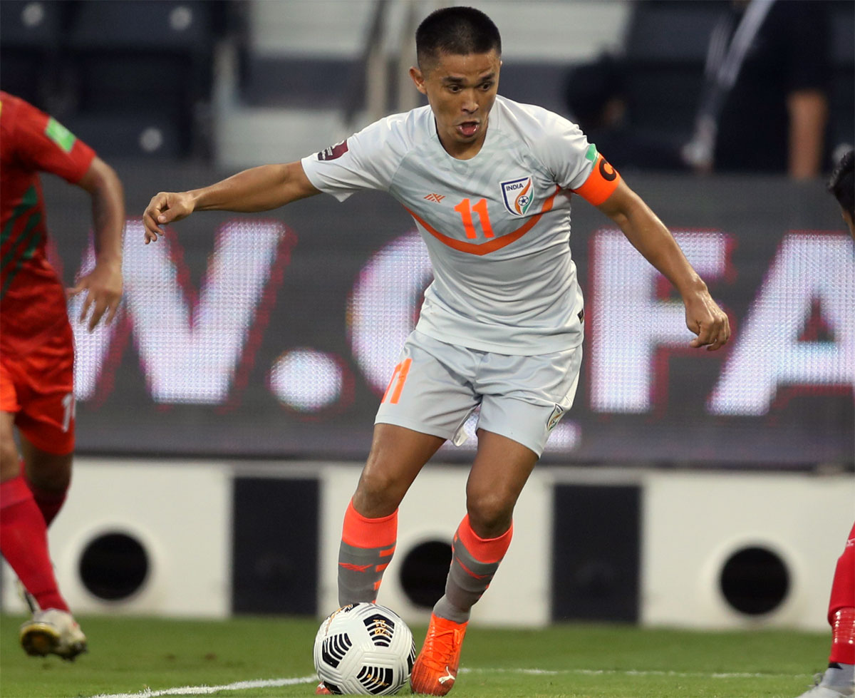 Chhetri on his future plans after equalling Pele