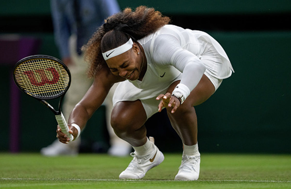 Wimbledon defends 'slippery' courts