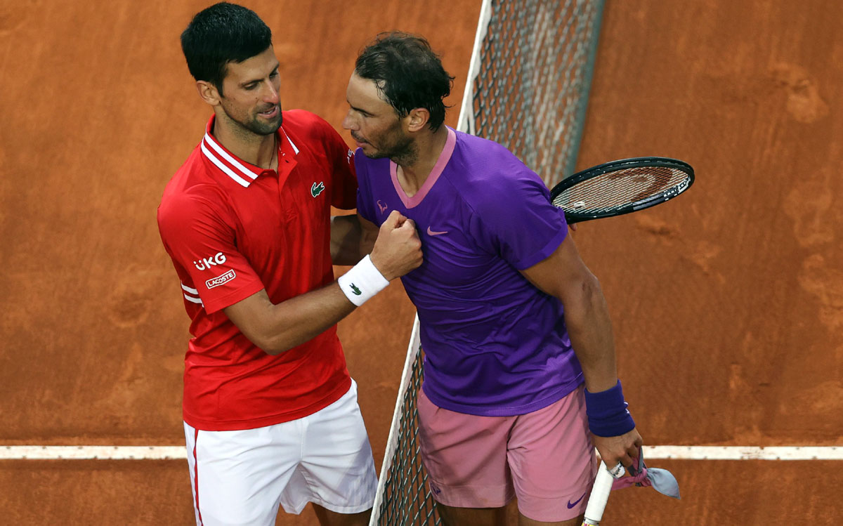 Djokovic sends out a warning to Nadal