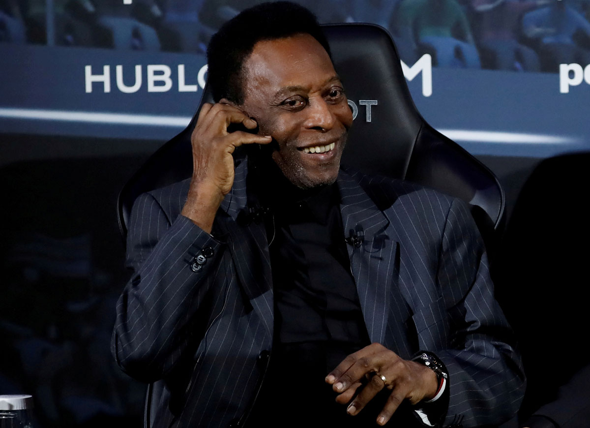 Pele ready for 'extra time' after leaving ICU