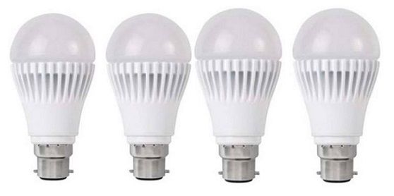 12 W LED Bulb Set Of 4 B22 Type Socket