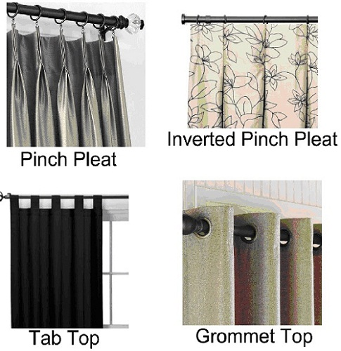 Instead Of The Regular Pinch Pleat Or Inverted Method You Can Go For Tab Top And Grommet Hanging Style Curtains To Make Your Look Modern
