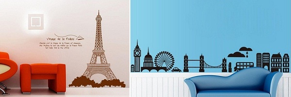 these wall stickers will make your plain walls look uniquely amazing
