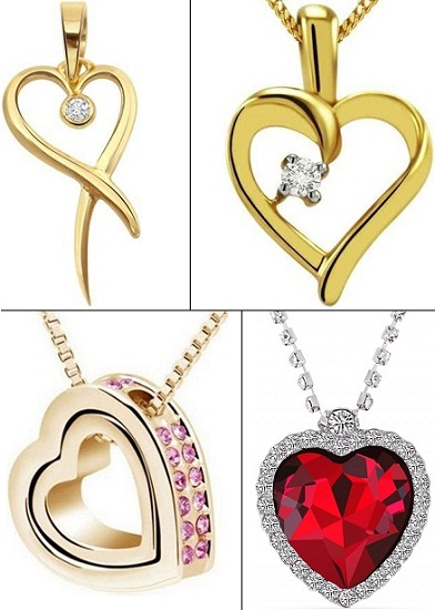 Heart Shape Pendants