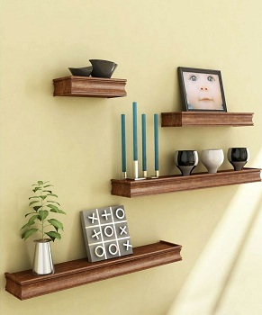 12 Stunning Wall Racks That Actually Look Like A Piece Of