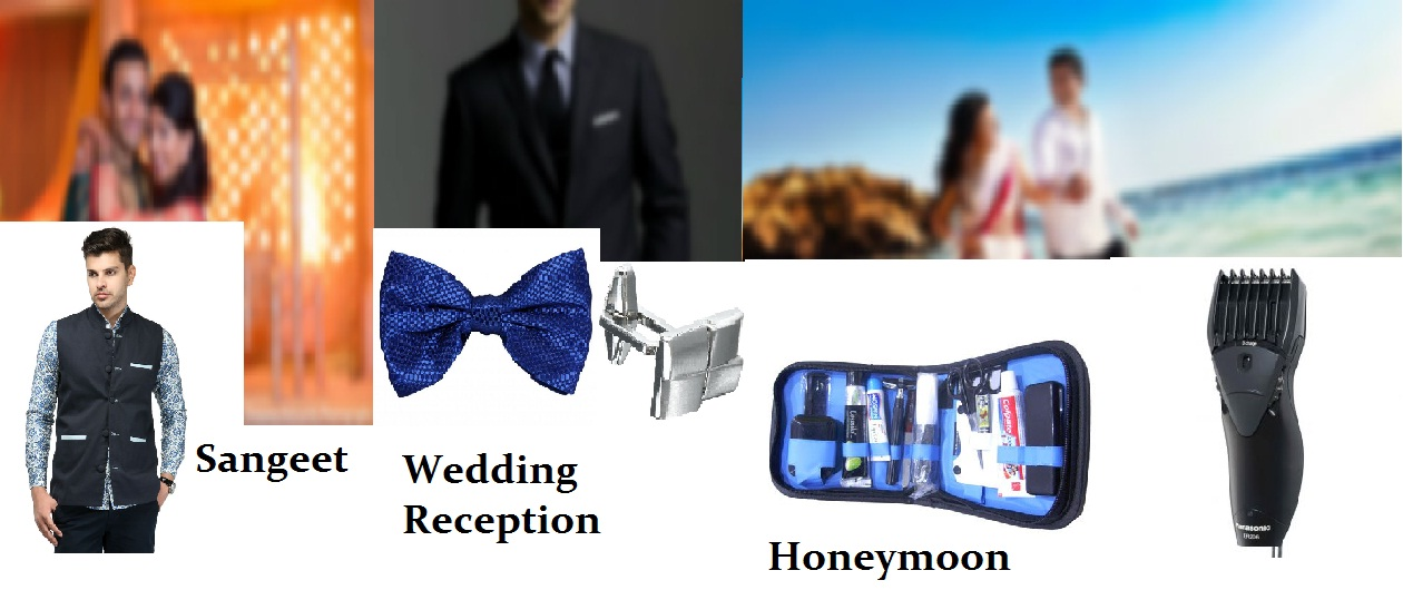 Stylish groom essentials